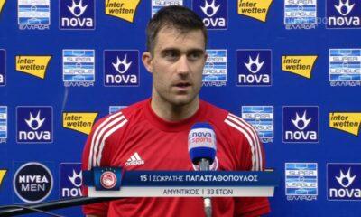"""Παπασταθόπουλος: """"Έκανα μία πολύ μεγάλη καριέρα..."""" (video) 23"""