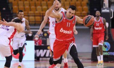 Η βαθμολογία της EuroLeague: Εξι σερί ήττες ο Ολυμπιακός, που έπεσε στο 11-15
