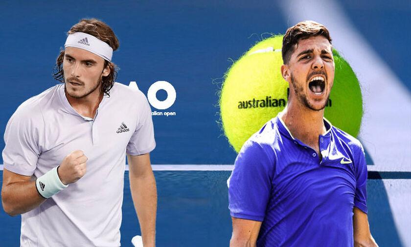 "Australian Open: Στα ""πέναλτι"" πήρε ο Τσιτσιπάς τον Καλαματιανό Κοκκινάκη!"