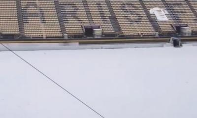 """Κακοκαιρία """"Μήδεια"""": Στον αέρα τα ματς σε Αλκαζάρ και """"Κλ. Βικελίδης"""" λόγω χιονιού (+vid) 12"""