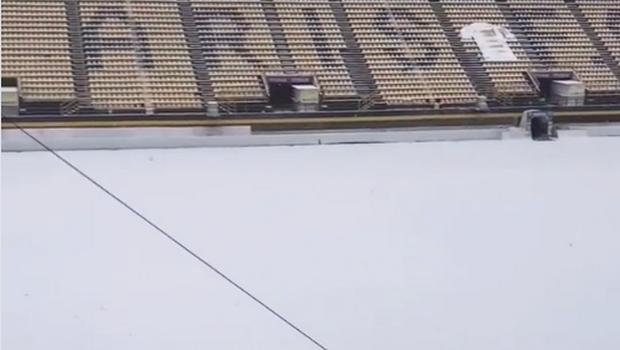 """Κακοκαιρία """"Μήδεια"""": Στον αέρα τα ματς σε Αλκαζάρ και """"Κλ. Βικελίδης"""" λόγω χιονιού (+vid)"""