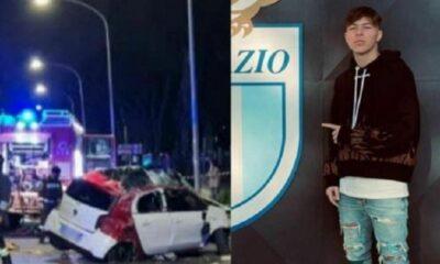 Σοκ στη Λάτσιο: Έχασε τη ζωή του σε τροχαίο 19χρονος ποδοσφαιριστής! 23
