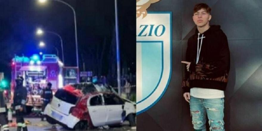 Σοκ στη Λάτσιο: Έχασε τη ζωή του σε τροχαίο 19χρονος ποδοσφαιριστής!