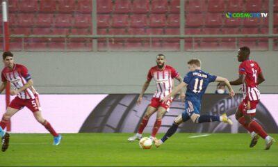 Ολυμπιακός - Άρσεναλ: Το 0-1 (video) 6