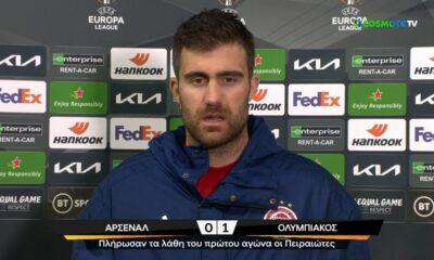"""Παπασταθόπουλος: """"Είμαστε (...) η μόνη ομάδα που έχει κερδίσει τρεις φορές στο Emirates"""" (+video) 7"""