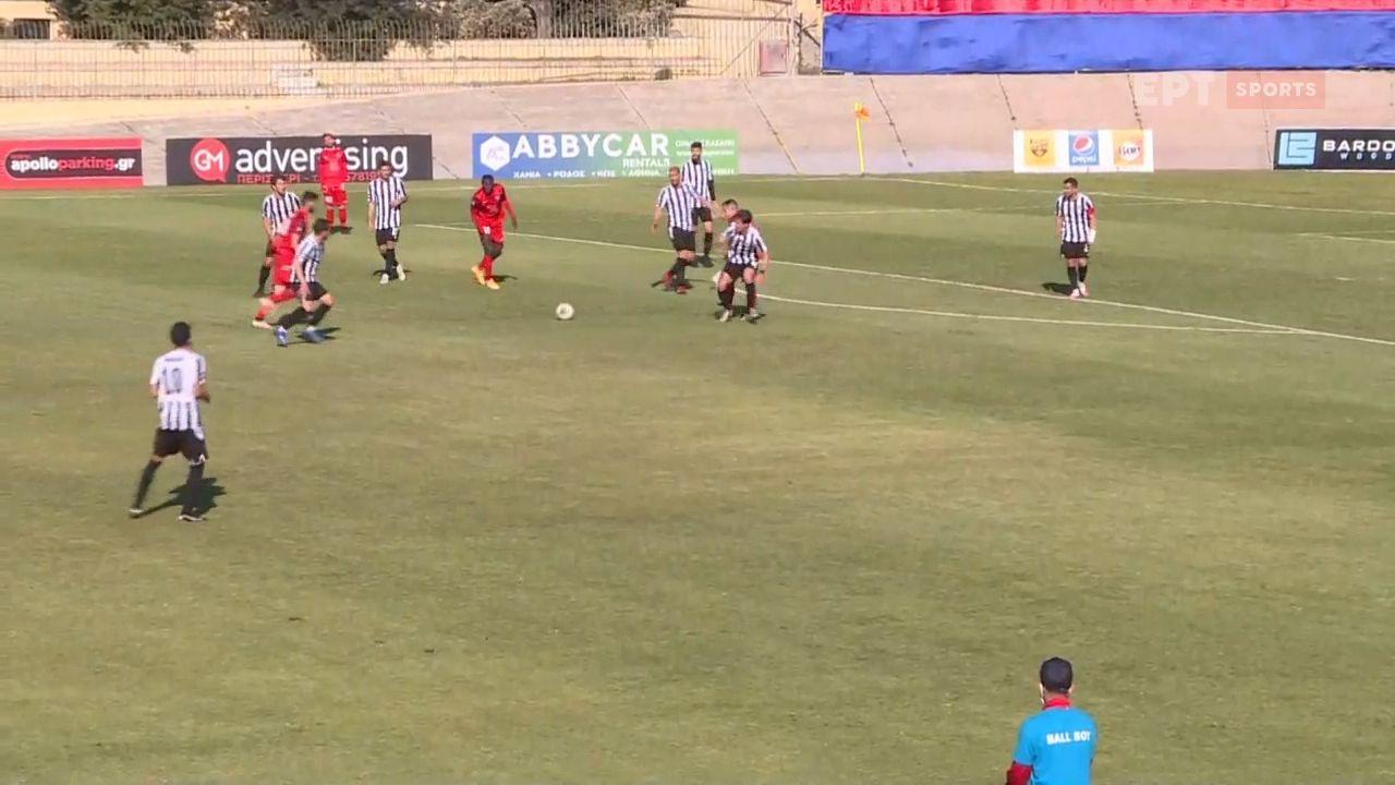 Γκολάρα Μιχάλη Μπαστακού στη Ρόδο και 1-0 ο Διαγόρας τον ΟΦΙ! (video)