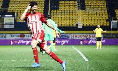 """Άρης – Ολυμπιακός 1-1: Ο Μπουχαλάκης """"έκλεψε"""" την πρόκριση – γκάφα Κουέστα"""