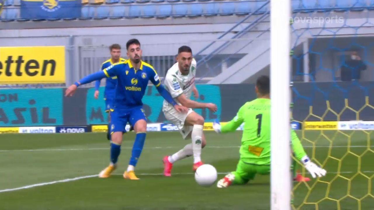 Αστέρας Τρίπολης – Παναθηναϊκός 2-2: Γκολ και highlights (video)
