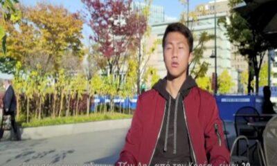 Ο Κορεάτης (!) λέει Σαντζίν Λη  στην Κοζάνη (+vid)