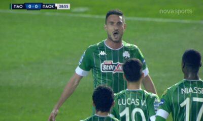 ΠΑΟ-ΠΑΟΚ: 1-0 με κεφαλιά του Μακέντα (video) 6