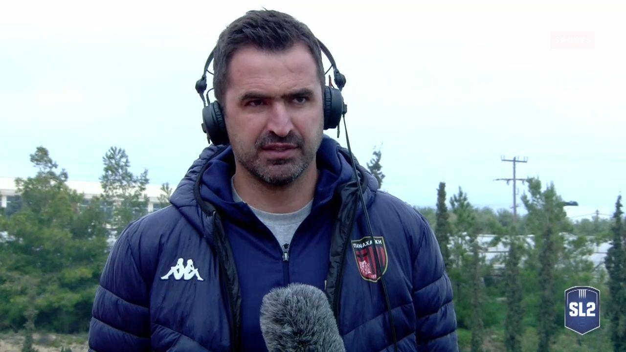 """Παρασκευόπουλος: """"Μετά το σημερινό, μόνος στόχος η εξάδα…"""" (video)"""
