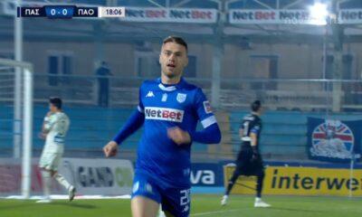 ΠΑΣ Γιάννινα – Παναθηναϊκός 1-0: Γκολ και highlights (video)