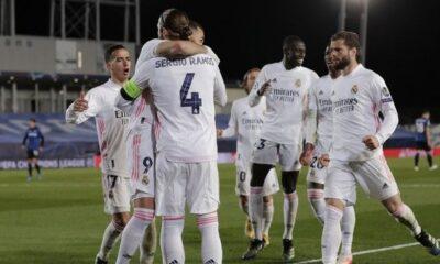 """Ρεάλ Μαδρίτης - Αταλάντα 3-1: Επέστρεψε στους """"8"""" μετά από 3 χρόνια η Βασίλισσα (+video) 5"""