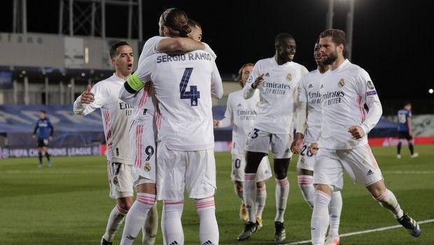 """Ρεάλ Μαδρίτης – Αταλάντα 3-1: Επέστρεψε στους """"8"""" μετά από 3 χρόνια η Βασίλισσα (+video)"""