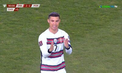 Χαμός στο Σερβία - Πορτογαλία: Δεν μέτρησε καθαρό γκολ του Ρονάλντο στο 93' - αποχώρησε από γήπεδο! (+videos) 18