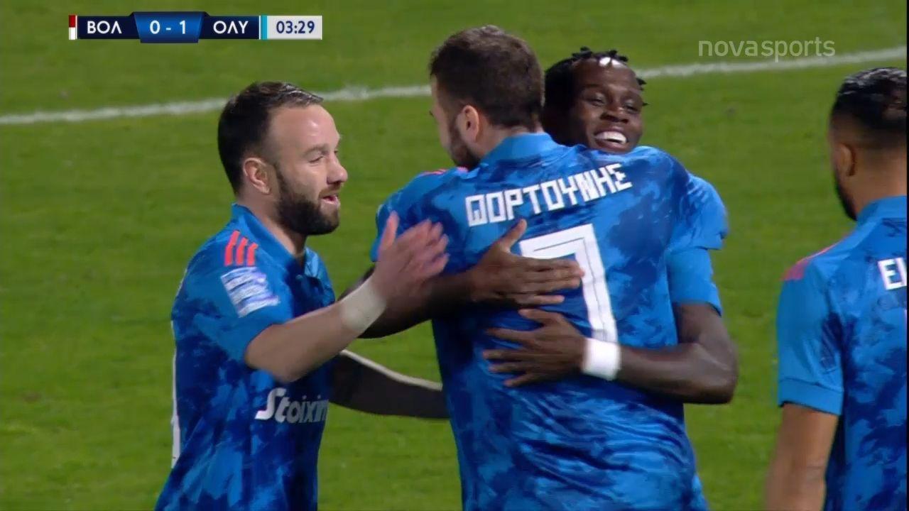 Βόλος – Ολυμπιακός 1-2: Γκολ και highlights (video)