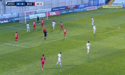Απόλλων Σμύρνης-Βόλος 0-0... Highlights (videos) 13