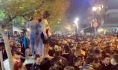 Κορονοϊός: 1607 νέα κρούσματα - 78 νεκροί, ρεκόρ με 847 διασωληνώσεις! Χοροπηδάτε τώρα στις πλατείες εσείς! (+videos) 6