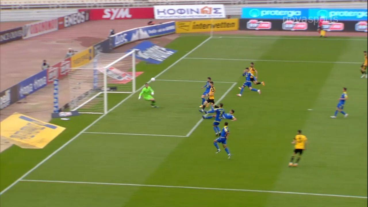 ΑΕΚ – Αστέρας Τρίπολης 3-1: Γκολ και highlights (video)