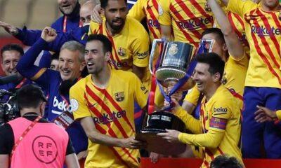 Copa del Rey: Η Μπαρτσελόνα διέλυσε με 4-0 την Αθλέτικ και πήρε το Κύπελλο (+video)