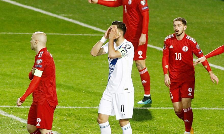 Ελλάδα – Γεωργία 1-1: Με τέτοια εικόνα δεν άξιζε να νικήσει (+video)