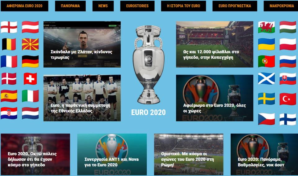 Αφιέρωμα στο Euro 2020, 56… και σήμερα!
