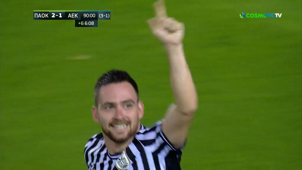 ΠΑΟΚ – ΑΕΚ 2-1: Τα γκολ και η καλύτερες φάσεις του ημιτελικού (video)