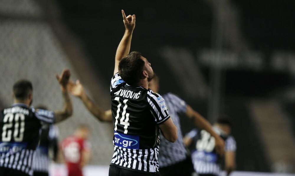 ΠΑΟΚ-Ολυμπιακός 2-0: «Ζωντανός» για Ευρώπη με… υπογραφή Ζίβκοβιτς