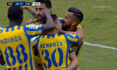 ΠΑΣ Γιάννινα - Παναιτωλικός γκολ