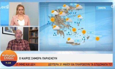 Η πρόγνωση του καιρού από τον Τάσο Αρνιακό | Παρασκευή 28/05/2021 (video) 12