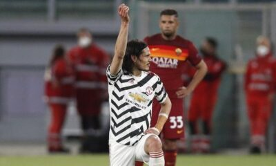 """Ρόμα – Μάντσεστερ Γιουνάιτεντ 3-2: Με Καβάνι στον τελικό οι """"κόκκινοι διάβολοι"""", έδειξαν χαρακτήρα οι Ρωμαίοι"""
