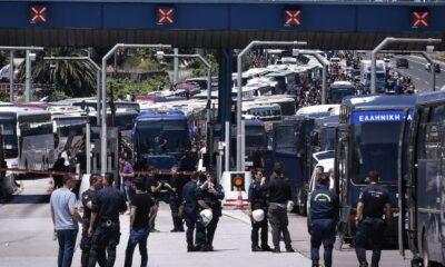 Απίστευτο: Πέντε πούλμαν οπαδών του ΠΑΟΚ πέρασαν τα διόδια, πήγαν Αθήνα 10