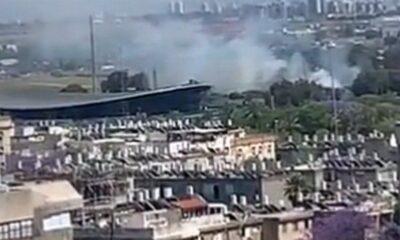 Ισραήλ: Ρουκέτα έσκασε δίπλα στο γήπεδο της Χάποελ Χολόν την ώρα της προπόνησης (+video)