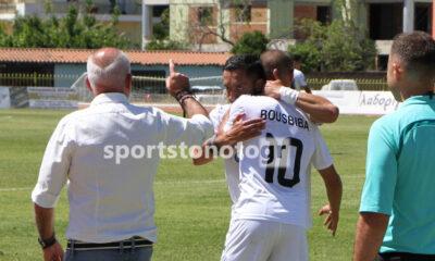Καλαμάτα - Ρόδος 1-0 πανηγύρια Αναστόπουλος, Μπουσμπίμπα