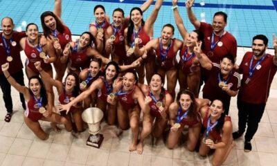 Ολυμπιακός - Ντουναϊσβάρος 7-6: Θρύλος και της πισίνας, πρωταθλητής Ευρώπης για 2η φορά στις γυναίκες (+pic-video) 29