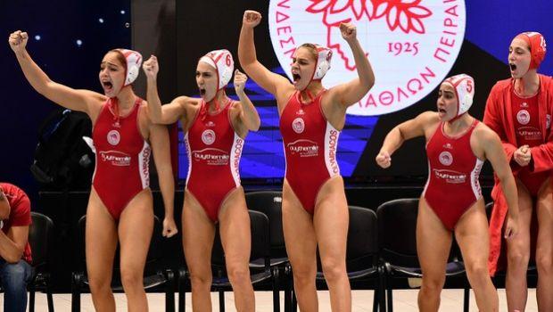 Ολυμπιακός – Ντουναϊσβάρος 7-6: Θρύλος και της πισίνας, πρωταθλητής Ευρώπης για 2η φορά στις γυναίκες (+pic-video)