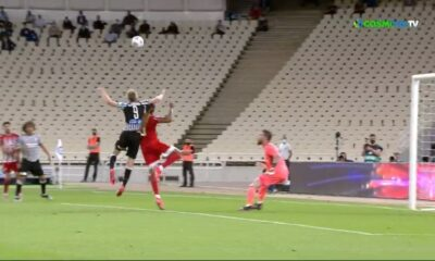 Ολυμπιακός - ΠΑΟΚ 1-2 γκολ