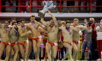 Ολυμπιακός – Βουλιαγμένη 12-9: Το πρωτάθλημα βάφτηκε ερυθρόλευκο για 9η συνεχόμενη σεζόν (+videos)