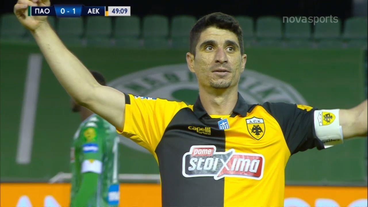 Παναθηναϊκός – ΑΕΚ 0-1: Γκολ και highlights (video)