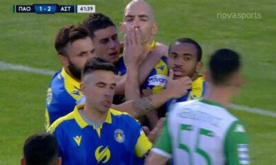 Παναθηναϊκός – Αστέρας Τρίπολης 2-2: Γκολ και φάσεις (video)