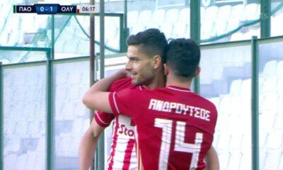 Παναθηναϊκός – Ολυμπιακός 1-4: Γκολ και highlights (video)