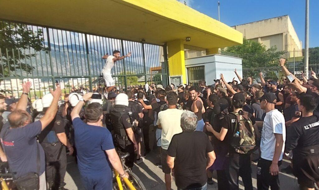 """Η παρακάμερα του Καλαμάτα – Καλλιθέα: Στον αέρα τον """"Αναστό"""", """"τρελάθηκε"""" ο Ηλιόπουλος! (pic+video)"""