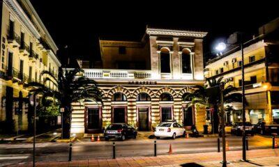 Φωταγωγήθηκε το Δημαρχείο και τα δημοτικά κτήρια της πόλης! Μήνυμα Δημάρχου…
