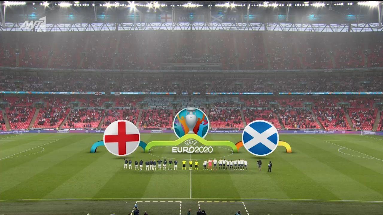 Αγγλία – Σκωτία: 0-0 (hls)
