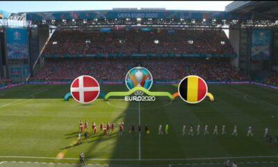 Δανία - Βέλγιο: 1-2 (hls) 18