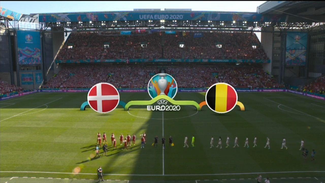 Δανία – Βέλγιο: 1-2 (hls)
