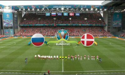 Ρωσία – Δανία : 1-4 (hls)
