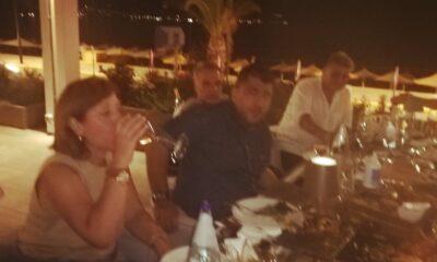 """Δείπνος με Λεουτσάκο στο """"Horizon Blu"""": """"Τιμή μου να δώσω την Κούπα στη Μαύρη Θύελλα""""! (+pics) 10"""