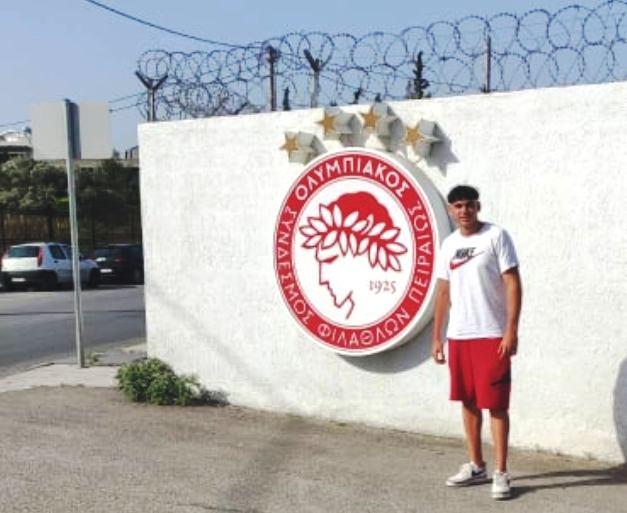 Δοκιμάζεται στις Ακαδημίες του Ολυμπιακού ο Σάββας Μουζάκης (+pic)