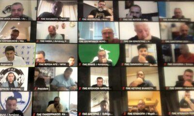 """Τηλεδιάσκεψη SL2/FL - Aυγενάκη: """"Κλείδωσαν"""" αναδιάρθρωση και Β' ομάδες - Με 36 (!) ΠΑΕ πλέον η SL2! 25"""